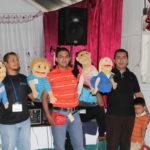 J&T 2017-08-11 puppeteers Principe de Paz, Diriomo, NI